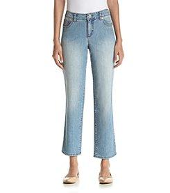 Bandolino® Petites' Mandie Highlands Cropped Jeans