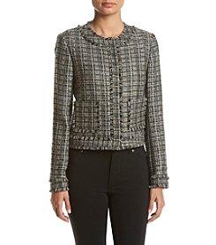 Tommy Hilfiger® Tweed Fringe Jacket
