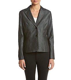 Kasper® Notched Lapel Jacket