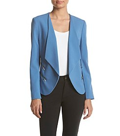 Nine West® Jacket With Contrasting Trim