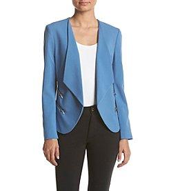 Nine West® Jacket With Contrasting Trim