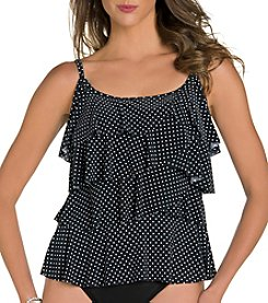 Miraclesuit® Pin Point Tiering Up Tankini