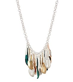 Robert Lee Morris Soho™ Shaky Patina Mixed Metal Sculptural Necklace
