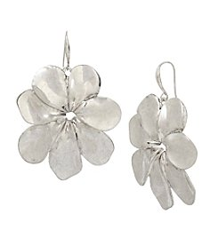 Robert Lee Morris Soho™ Sculptural Flower Drop Earrings