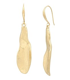 Robert Lee Morris Soho™ Sculptural Petal Drop Earrings
