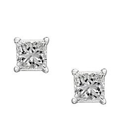 Effy® .49 ct. t.w. Diamond Earrings in 14K White Gold