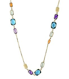 Effy® 14K Yellow Gold Gem Stone Necklace
