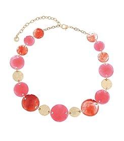 Gloria Vanderbilt™ Large Collar Necklace