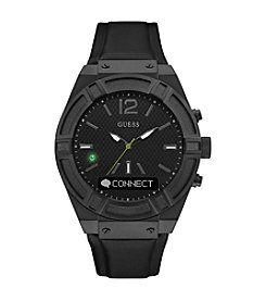 GUESS Connect Black Smart Watch
