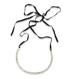 Carolee® Rockstars Stone Wrap Choker Necklace
