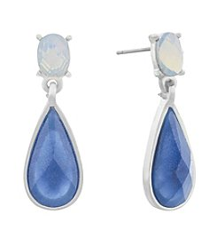 Gloria Vanderbilt™ Large Double Drop Earrings