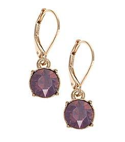 Gloria Vanderbilt® Small Drop Earrings