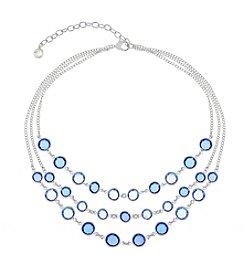 Gloria Vanderbilt™ Multi Row Frontal Necklace