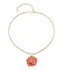 Gloria Vanderbilt™ Flower Pendant Necklace