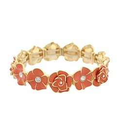 Gloria Vanderbilt® Flower Stretch Bracelet