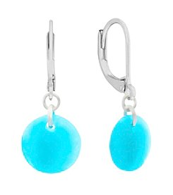 Gloria Vanderbilt™ Round Drop Earrings