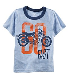 Carter's® Boys' 2T-4T Short Sleeve Go Fast Tee