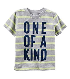 Carter's® Boys' 2T-8 Short Sleeve One Of A Kind Tee
