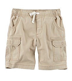 Carter's® Boys' 2T-7 Khaki Cargo Shorts