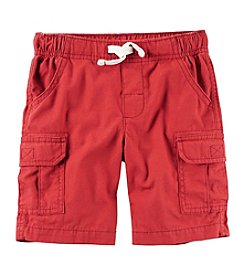 Carter's® Boys' 2T-8 Solid Cargo Shorts
