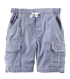 Carter's® Boys' 2T-8 Striped Cargo Shorts