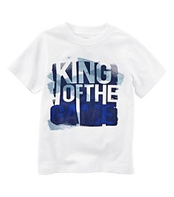 Carter's® Boys' 2T-8 Short Sleeve King Of Game Tee