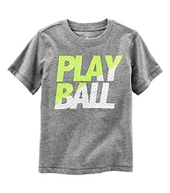 Carter's® Boys' 2T-8 Short Sleeve Play Ball Tee