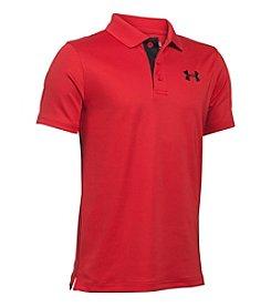 Under Armour® Boys' 8-20 Match Play Short Sleeve Polo