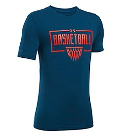 Under Armour® Boys' 8-20 Basketball Backboard Net Short Sleeve Tee