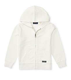 Polo Ralph Lauren® Boys' 2T-7 Long Sleeve Knit Hoodie