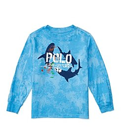 Polo Ralph Lauren® Boys' 2T-7 Long Sleeve Graphic Tee