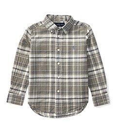 Polo Ralph Lauren® Boys' 2T-7 Long Sleeve Button Down Shirt