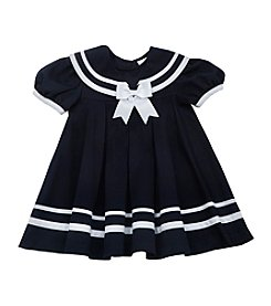 Rare Editions® Baby Girls' Nautical Dress and Hat