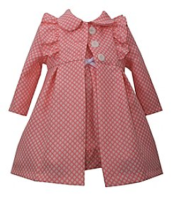 Bonnie Jean® Baby Girls' Polka-Dot Dress and Coat