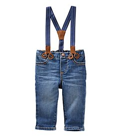 OshKosh B'Gosh® Baby Boys' Denim Suspender Pants
