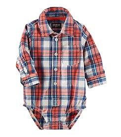 OshKosh B'Gosh® Baby Boys' Plaid Bodysuit