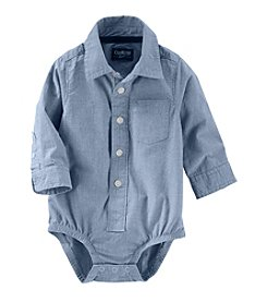 OshKosh B'Gosh® Baby Boys' Striped Woven Bodysuit