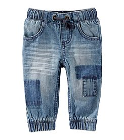 OshKosh B'Gosh® Baby Boys' Denim Patched Joggers