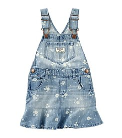 OshKosh B'Gosh® Baby Girls' Floral Printed Denim Jumper