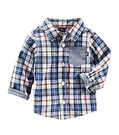 OshKosh B'Gosh® Baby Boys' Plaid Long Sleeve Woven Shirt