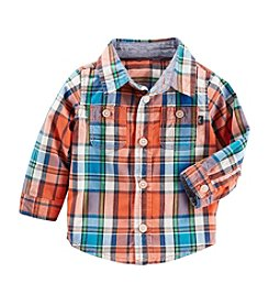 OshKosh B'Gosh® Baby Boys' Plaid Woven Shirt