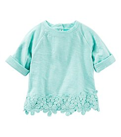 OshKosh B'Gosh® Baby Girls' Lace Trim Top