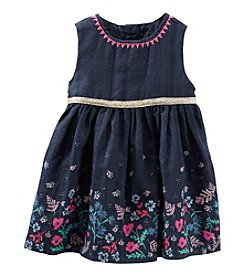 OshKosh B'Gosh® Baby Girls' Border Printed Dress