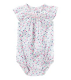 OshKosh B'Gosh® Baby Girls' Floral Printed Bodysuit