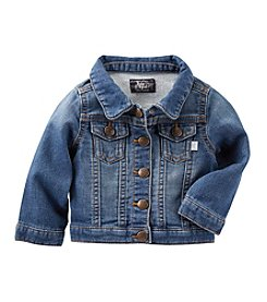 OshKosh B'Gosh® Baby Girls' Knit Denim Jacket