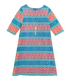 Rare Editions® Girls' 7-16 Printed Lace Dress
