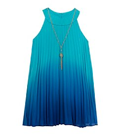 Rare Editions® Girls' 7-16 Ombre Chiffon Dress
