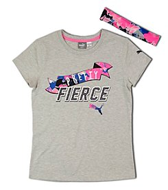 PUMA® Girls' 7-16 Be Pretty Fierce Tee
