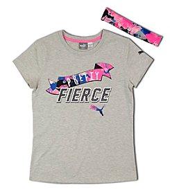 PUMA® Girls' 7-16 Be Pretty Fierce Tee