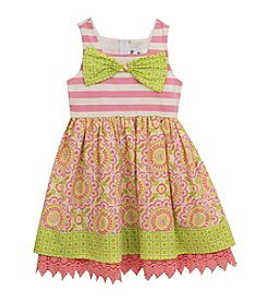 Rare Editions® Girls' 2T-6X Daisy Printed Skirt Dress